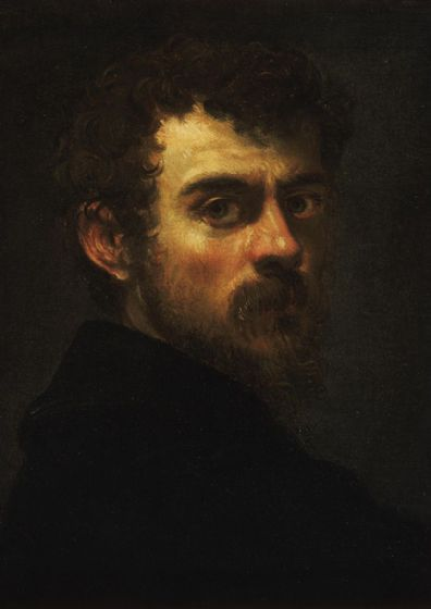 Tintoretto, Jacopo Robusti: Self Portrait (5162)